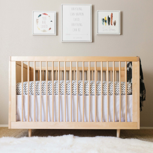 natural nursery reveal featuring shutterfly