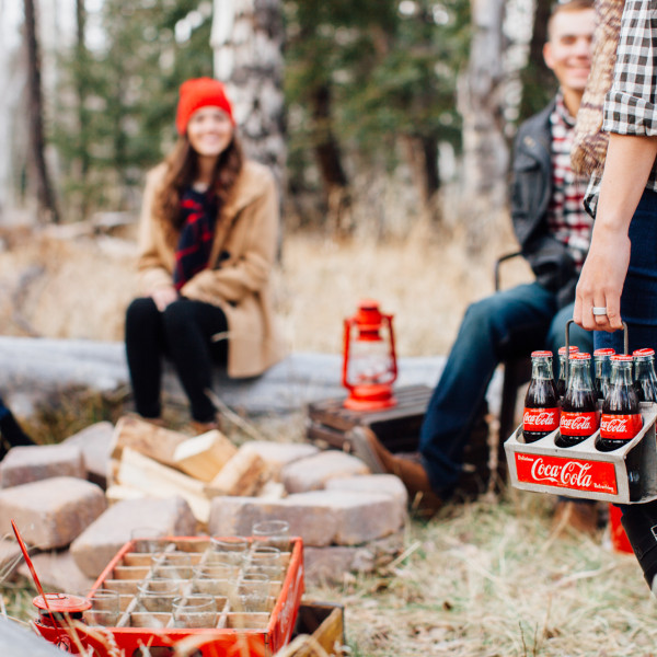 entertaining with Coca-Cola