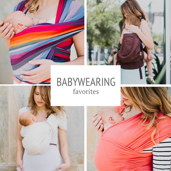 babywearing favorites for every age and stage
