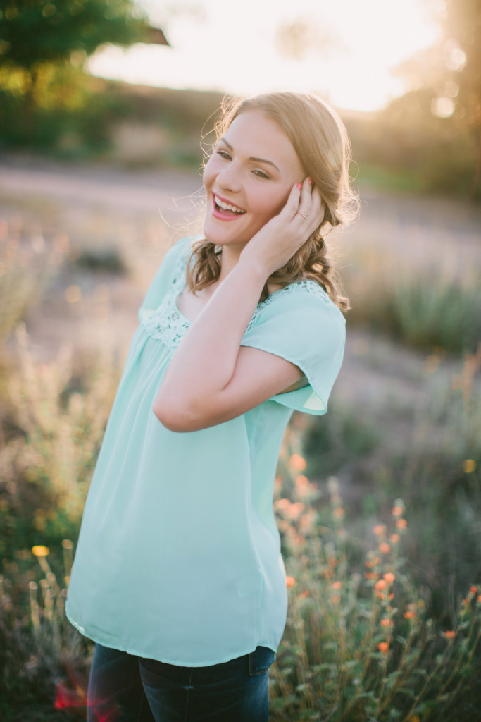 Boho Desert Senior Session | ten22 studio