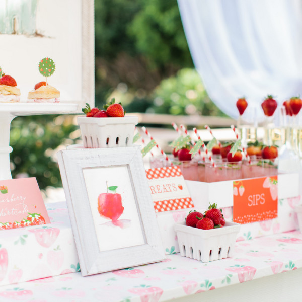 Minted Strawberry Stand at Mom 2.0