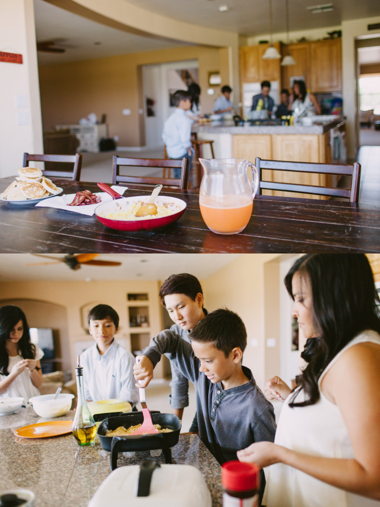 hansen family home brunch lifestyle photoshoot ten22 studio