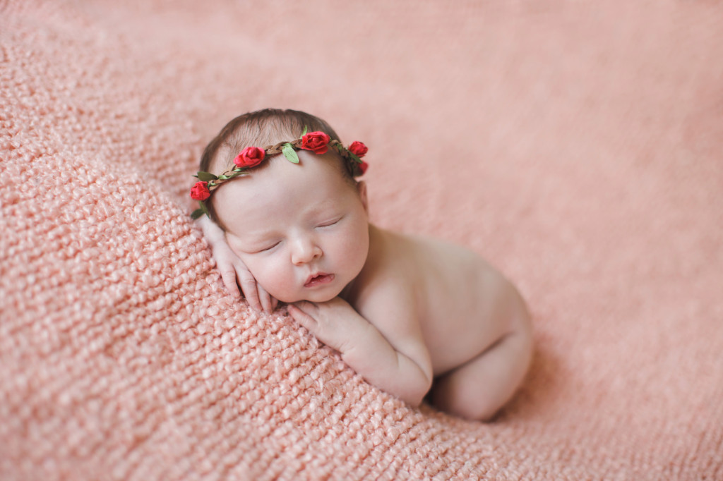 Hazel Newborn, baby girl, chandler AZ, ©ten22 studio llc