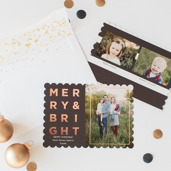 2015 Tiny Prints Holiday Cards & Ornament