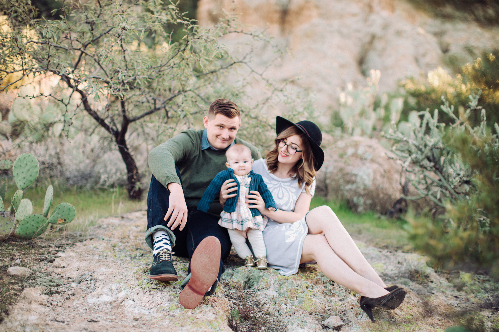 Waggoner Family Lifestyle Baby Girl| Rennai Hoefer © Ten22 Studio