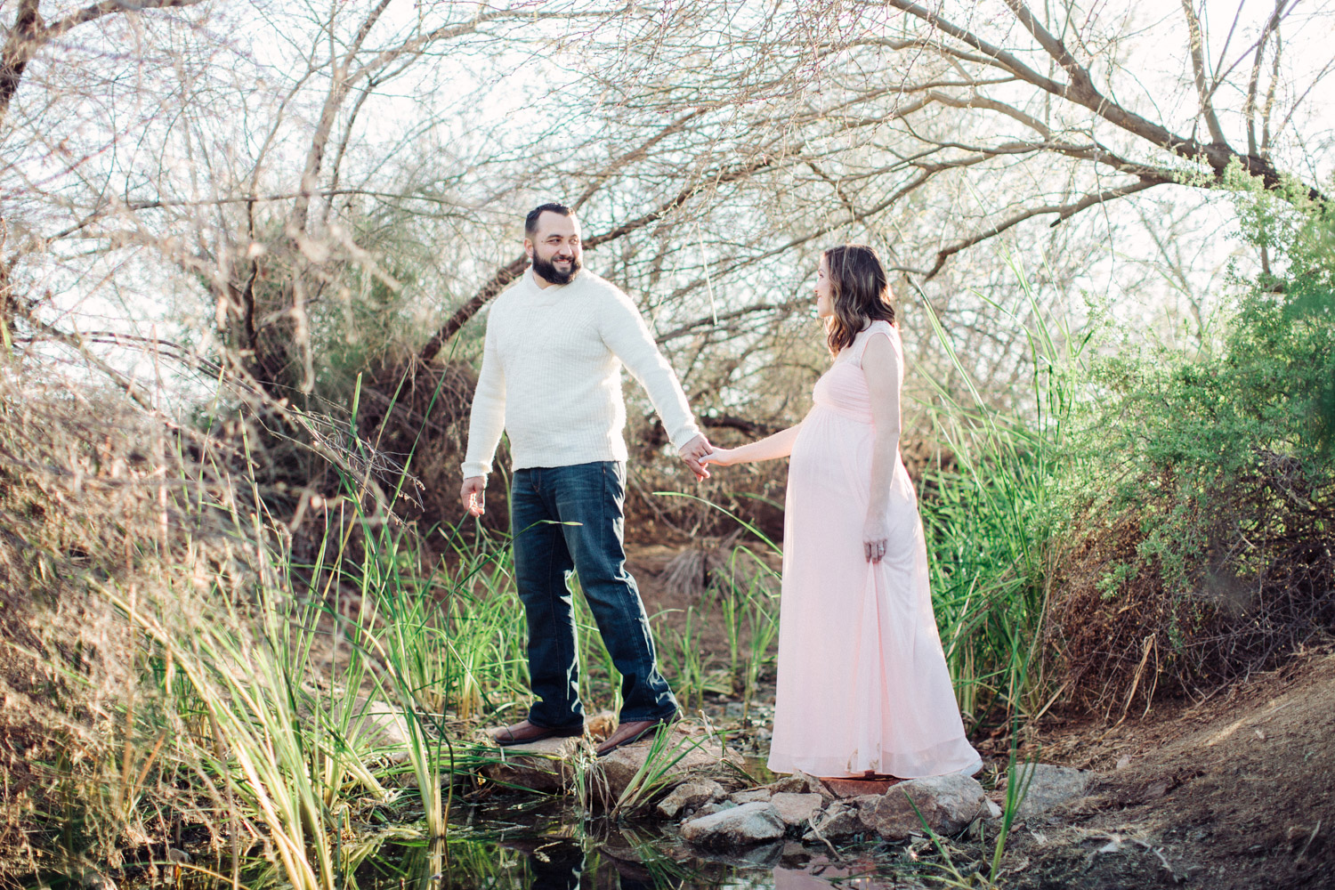Arizona Lifestyle Maternity Session