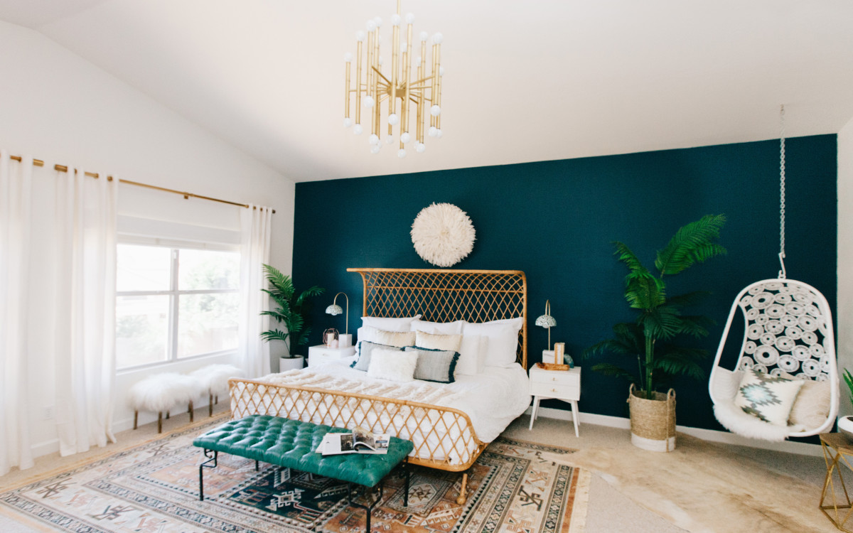 Master Bedroom revel with AVE Styles